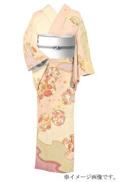 ≪秀麗古典美!≫ 【青柳】謹製 十日町友禅訪問着 「雲霞古典花情緒」 ✩春の入卒式のお付添いにもピッタリです。|京都きもの市場