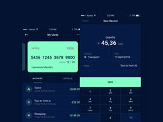 Finance App by Artyom Khamitov