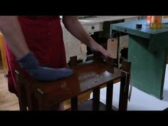 ▶ How to Safely Clean Old Wood Furniture : Antique Furniture Care