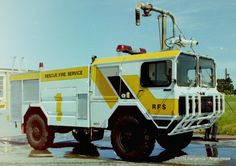 Ex CHRISTCHURCH AIRPORT FIRE F1 reumbered F2, 1986 MAN