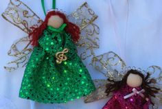 handmade angel ornaments - Yahoo Image Search Results