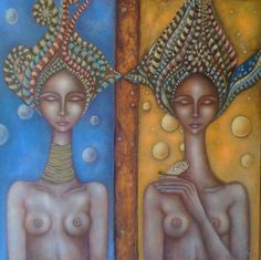 by Ingrid Tusell Domingo Woman Painting, Figure Painting, Painting People, Art Portfolio, Life Drawing, Figurative Art, Pattern Art, Illustrators, Concept Art