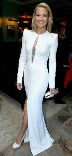 Kate Hudson in Alexander McQueen, The Reluctant Fundamentalist 2013 premiere