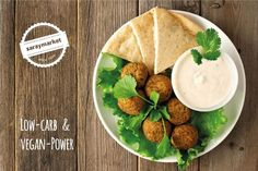 Low-Carb Falafel im Ofen