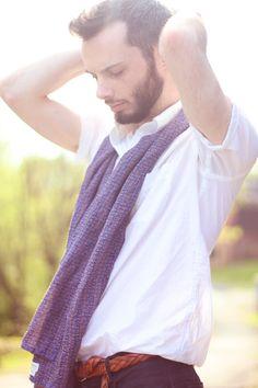 Dries Van Noten scarf, #Uniqlo shirt #menswear #style