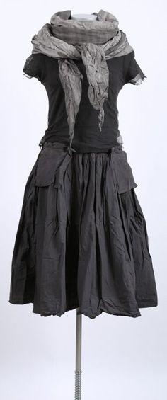 rundholz dip - Kleid mit Tüll Paint mohn - Sommer 2015 - stilecht - mode für frauen mit format...