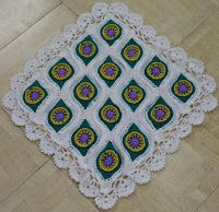 Sweet Nothings Crochet: MY PEACOCK BLANKET