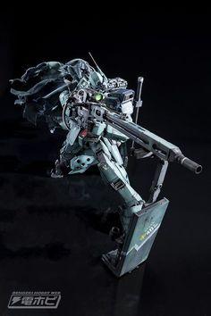 Custom Build: MG 1/100 GM Sniper II [DENGEKI HOBBY] - Gundam Kits Collection News and Reviews