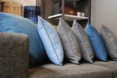 Kussens Blauw Grijs : Beste afbeeldingen van verdeco kussens interior photography