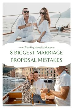 8 Biggest Proposal Mistakes Marriage Proposals, Do You Know What, Mistakes, Posts, Weddings, How To Plan, Big, Messages, Wedding