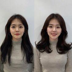Korean Haircut, Curled Hairstyles, Hair Inspo, Pretty Girls, Braids, Health Fitness, Hair Cuts, Make Up, Long Hair Styles
