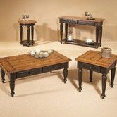 Found it at Wayfair - Country Vista Coffee Table Set http://www.wayfair.com/Country-Vista-Coffee-Table-Set-44542-01-PRGF1279.html?refid=TP49-PRGF1279