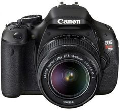 Canon EOS Rebel T3i 18MP Digital SLR Camera with 18-55mm IS Lens for $419.99! #canon