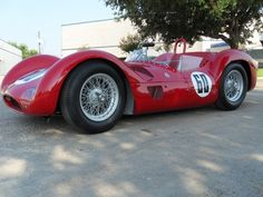 A Gentleman's Racer: The 1960 Maserati Birdcage Tipo 61