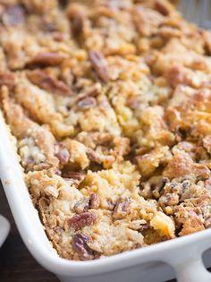 Pumpkin Crunch Cake ... http://www.bunsinmyoven.com/2016/09/06/pumpkin-crunch-cake-recipe/