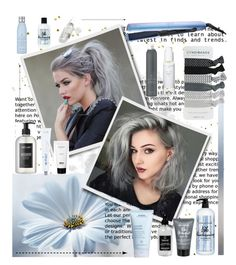 """""""Untitled #42"""" by wegenweil on Polyvore featuring beauty, Aveda, GHD, Earth's Nectar, Balmain, Little Barn Apothecary, Bumble and bumble, Sachajuan, Drybar and Herbivore"""