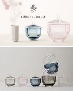 Lyngby Porcelain | Bonbonniere glass | designed by Lyngby Porcelæn (1944)