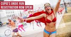 Cupid's Undie Run is a mile(ish) run in your bedroom-best on Valentine's weekend. No, we're not crazy, we're just crazy serious about raising money for The Children's Tumor Foundation.