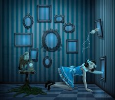 Natalie Shau digital artworks