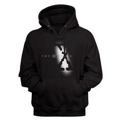 X-Files Hoodie / 90s TV Show X files logo Hoodie Tv Show Logos, Hoodie Brands, Movie T Shirts, Cool Hoodies, Personalized T Shirts, Mom Shirts, Order Prints, Printed Shirts, Hooded Sweatshirts