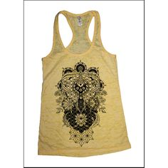 Women's Perennials Mandala Tank Dotwork Sacred Geometry Psychedelic... ($22) ❤ liked on Polyvore featuring tops, black, tanks, women's clothing, flower shirt, geometric pattern shirt, geometric top, geometric print top and geo print shirt