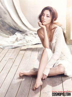 Goo Hara // Cosmopolitan Korea // August 2013