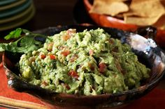 Fresh lime juice helps make this one of the best and brightest guacamole dips you'll ever make.