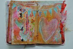 mel's art journal { like it; a bit rustic }