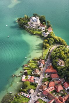 Ruphy castle Annecy lake, France