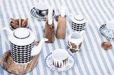 Porcelánová cukřenka Noir Vague | Nordic Day