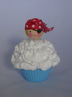Cupcake Topper by lallygag on Etsy, $8.00
