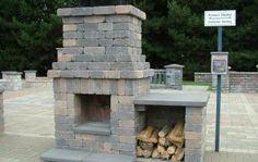 Deschutes Fireplace Kit | Western Interlock
