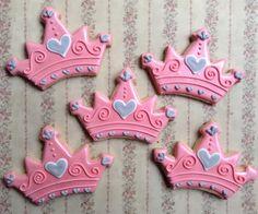 Galletas de coronas de princesas                                                                                                                                                      Más