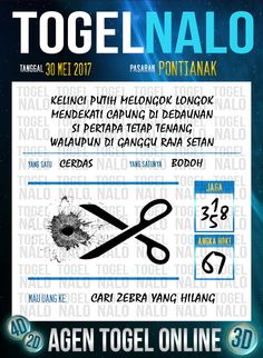 Pools JP 3D Togel Wap Online TogelNalo Pontianak 30 Mei 2017