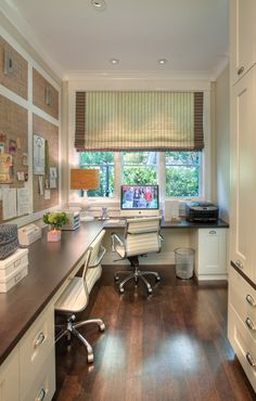 A neat, compact office under the stairs. Photo courtesy ...
