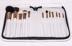 12 Piece Rose Gold Limited Edition Makeup Brush Set. – FIERCE FACE