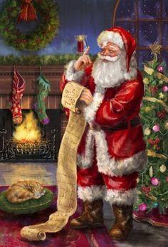"""""""Santa's List"""" by Marcello Corti"""