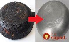 Kam sa hrabú čistiace prášky a drahé prostriedky na pripáleniny: Starý recept babičiek zachráni aj najhoršie hrnce!