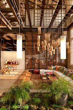 Un bureau sain pour un esprit sain grâce à de merveilleuses plantations ! La verdure apaise les tentions et vous transmet de bonnes ondes