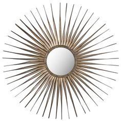 Safavieh Shanira Sunburst Gold Mirror | Overstock.com Shopping - Great Deals on Safavieh Mirrors