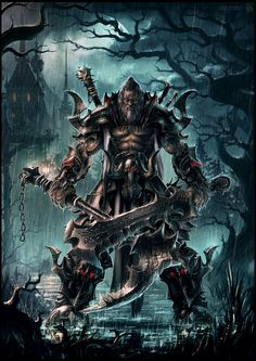 Barbarian Reaper of Demon Souls by draken4o on deviantART