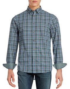 MICHAEL KORS Michael KorsTailored-Fit Gingham Check Shirt. #michaelkors #cloth #
