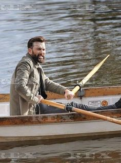 David Tennant filming his new movie, You, Me, and Him in Stratford. 11/4/16 (Digging the full beard.)