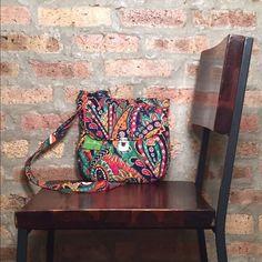 Vera Bradley Saddle Hipster Bag - Venetian Paisley Beautiful, NEW, Vera Bradley Saddle Hipster bag with tags. Venetian Paisley pattern. Vera Bradley Bags Crossbody Bags