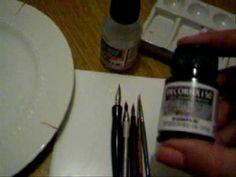 ATELIÊ NA TV - CANECA NOEL (pintura em porcelana, queima em forno caseiro) - YouTube