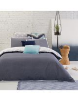 Orson Duvet Cover Set, Denim product photo