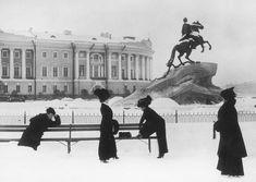 Петербургские модницы. 1900-е.