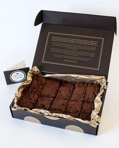 Chocolate Brownies Gift Box | Felt