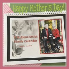 Mother's Day Traditions –Personalized Calendar My mom has been gone for over 20 years now and I miss her very much. My three older sisters and I go in together and purchase a great big bouquet of flowers and meet at the cemetery every Mother's Day to remember our sweet mom. Since we can't really buy any gifts for her other than that, we buy them for each other. We take them to the cemetery with us and exchange Mother's...