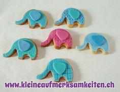Baby Elefanten Cookies